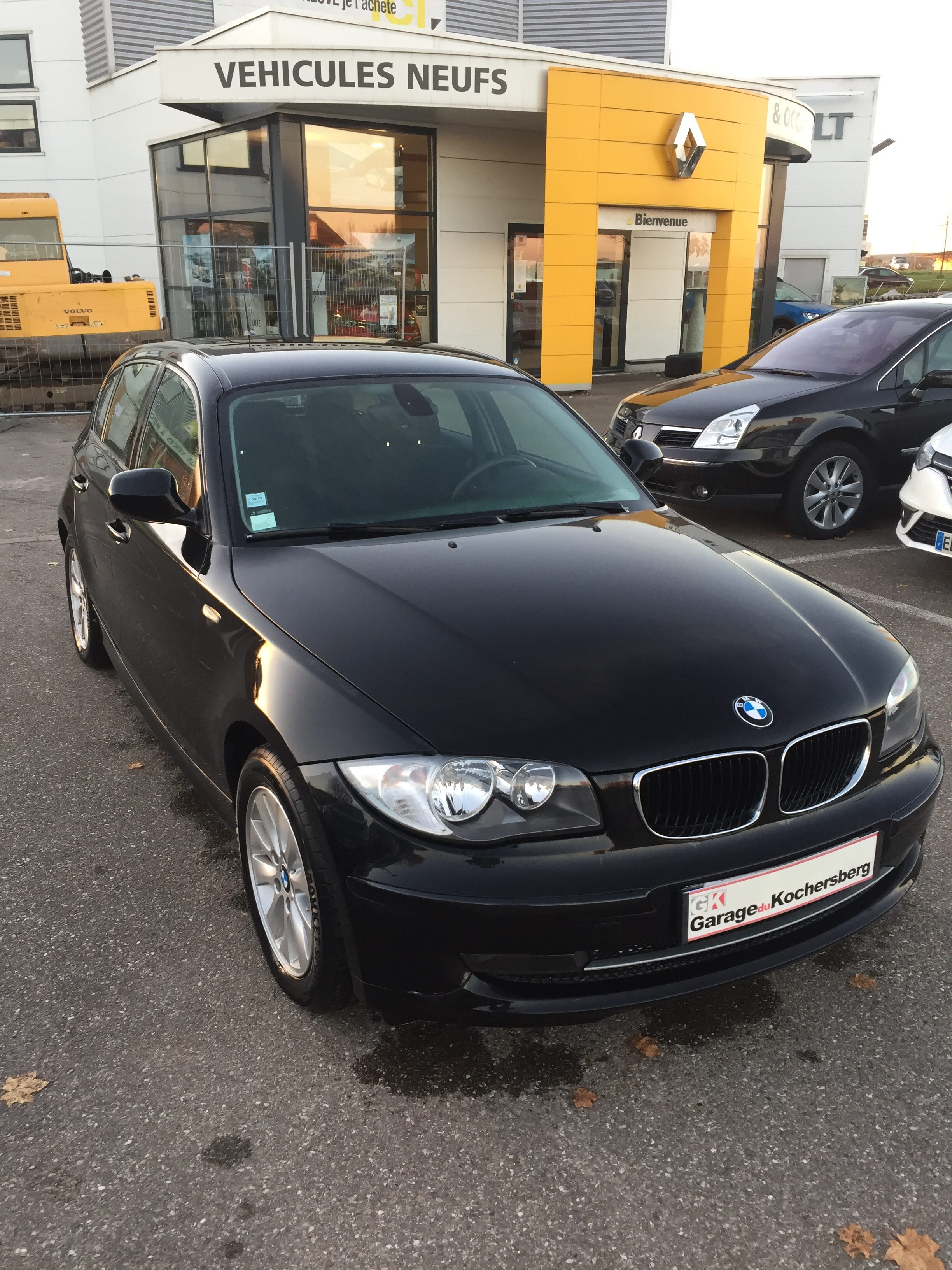 Bmw s rie 1 e87 118d 143ch confort garage du kochersberg for Garage mecanique bmw